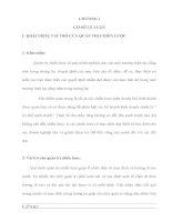 TÌM HIỂU CÁC CHIẾN LƯỢC SẢN XUẤT VÀ KINH DOANH TẠI CÔNG TY ĐẦU TƯ XÂY DỰNG 32