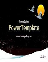 Template PowerPoint Event 1125TGp newyear D