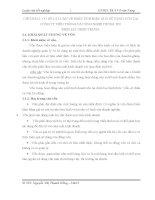 LUẬN VĂN TỐT NGHIỆP- CƠ SỞ LÝ LUẬN VỀ PHÂN TÍCH HIỆU QUẢ SỬ DỤNG VỐN TẠI CTY VIỄN THÔNG & CÔNG NGHỆ THÔNG TIN ĐIỆN LỰC MIỀN TRUNG