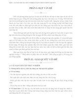 BÀI BÁO CÁO THỰC TẬP-CÁC DẠNG BÀI TẬP TRẮC NGHIỆM SỬ DỤNG TRONG CHƯƠNG 1 ĐẠI SỐ 8