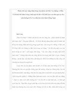 Phân tích sức sống tiềm tàn của nhân vật Mị qua tác phẩm Vợ chồng A-Phủ của Tô Hoài
