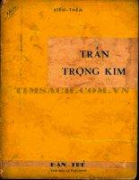 Ebook TRẦN TRỌNG KIM