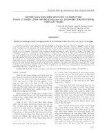 NGHIÊN CỨU ĐẶC ĐIỂM SINH HỌC VÀ BIỆN PHÁP QUẢN LÝ NHỆN LÔNG NHUNG Eriophyes sp. (ACARINA ERIOPHYIDAE) TRÊN CÂY NHÃN