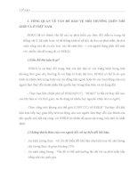TÌM HIỂU VẤN ĐỀ BẢO VỆ MÔI TRƯỜNG TRÊN THẾ GIỚI VÀ Ở VIỆT NAM VÀ CÁC TÁC ĐỘNG TỪ KHÍ HẬU
