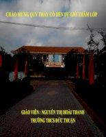 Giáo án bồi dưỡng thao giảng, thi giáo viên môn hoá 8 Bài thực hành số 1 (4)