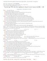 Tuyển tập 789 câu trắc nghiệm lý thuyết Vật lý luyện thi Đại học - Cao đẳng
