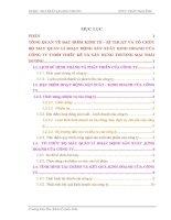 luận văn quản trị kinh doanh  TỔNG QUAN VỀ ĐẶC ĐIỂM KINH TẾ - KĨ THUẬT VÀ TỔ CHỨC BỘ MÁY QUẢN LÍ HOẠT ĐỘNG SẢN XUẤT KINH DOANH CỦA CÔNG TY TNHH THIẾT KẾ VÀ XÂY DỰNG THƯƠNG MẠI THÁI DƯƠNG