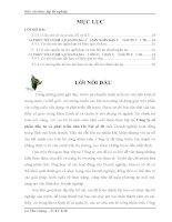 luận văn quản trị kinh doanh PHÂN TÍCH HOẠT ĐỘNG SXKD CỦA CÔNG TY CỔ PHẦN ĐẦU TƯ VÀ PHÁT TRIỂN NHÀ HÀ NỘI SỐ 30