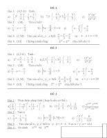ôn tập chương 1 toán lớp 7