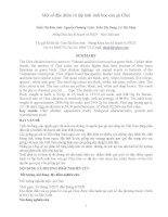 Một số đặc điểm và tập tính sinh học của gà Chọi