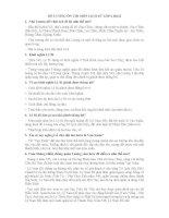 ĐỀ CƯƠNG ÔN THI MÔN LỊCH SỬ LỚP 6 HKII