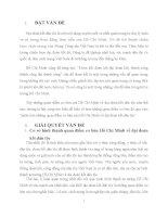 Bài tập lớn Tư tưởng Hồ Chí Minh Phân tích những quan điểm cơ bản của Hồ Chí Minh về đại đoàn kết dân tộc trường  dh thương mại