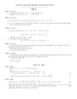 bài tập toán nâng cao lớp 7 có lời giải