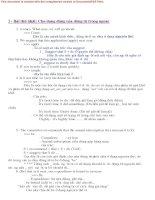 Tài liệu 28 Dạng Chia Động Từ Tiếng Anh