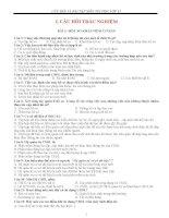 CÂU HỎI VÀ BÀI TẬP MÔN TIN HỌC LỚP 12