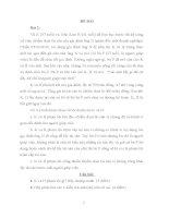 Bài tập luật hình sự