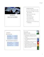Chương 2 Báo cáo tài chính (Môn Nguyên Lý kế toán)
