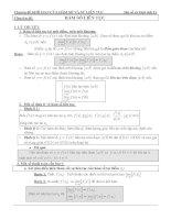 Chủ đề: HÀM SỐ LIÊN TỤC