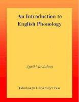 Tài liệu An Introduction to English Phonology