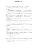 tổng hợp bài tập giải tích cổ điển nâng cao