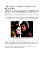 Thiếu Lâm tự và sự thật bí kíp tuyệt học Dịch cân kinh