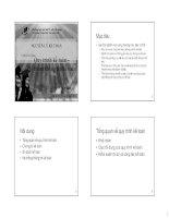 Chương 5,6 Quy trình kế toán,Hệ thống thông tin kế toán (Môn Nguyên Lý kế toán)