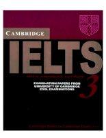 Tài liệu Cambridge IELTS 3