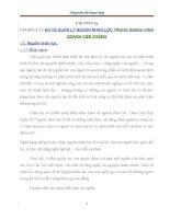 luận văn quản trị nhân lực CƠ SỞ LÝ LUẬN VỀ QUẢN LÝ NGUỒN NHÂN LỰC TRONG NGÀNH KINH DOANH VIỄN THÔNG