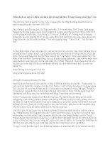 Phân tích vẻ đẹp cổ điển mà hiện đại trong bài thơ tràng giang của huy cận