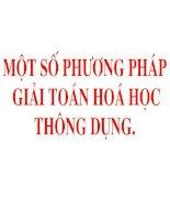 mot so pp giai toan hoa hoc.ppt