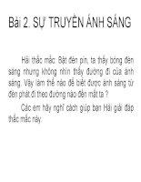 Bai 2 Su truyen anh sang