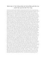Bình luận về bức thông điệp mà xuân diệu gửi đến cho người đọc qua bài thơ vội vàng