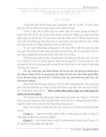 luận văn quản trị chất lượng MỘT SỐ GIẢI PHÁP NÂNG CAO CHẤT LƯỢNG SẢN PHẨM Ở CÔNG TY CƠ KHÍ HÀ NỘI