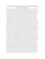 Anh chị hãy phân tích tâm trạng của hồ xuân hương qua bài thơ tự tình 2