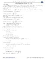 Hệ thống công thức vật lý 12 chương trình phân ban