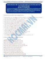 Mệnh đề quan hệ và cách kết hợp câu có cùng chủ ngữ- Part 3