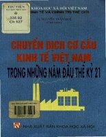 Chuyển dịch cơ cấu kinh tế Việt Nam trong những năm đầu thế kỷ 21