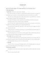 bài 33 sự phát triển của sinh giới qua các đại địa chất