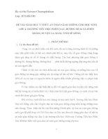 GIÁO dục ý THỨC AN TOÀN GIAO THÔNG CHO học SINH lớp 4, TRƯỜNG TIỂU học PHÔN XAY, ĐƯỜNG số 16 xã PHÔN KHĂM, HUYỆN LA MAM, TỈNH sê KÔNG