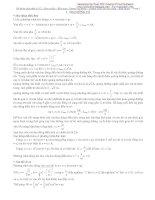 Hệ thống kiến thức Vật lý 12