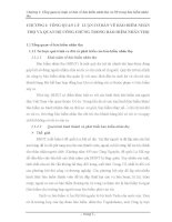 luận văn chuyên ngành bảo hiểm TỔNG QUAN LÝ LUẬN CƠ BẢN VỀ BẢO HIỂM NHÂN THỌ VÀ QUAN HỆ CÔNG CHÚNG TRONG BẢO HIỂM NHÂN THỌ