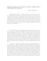 PHÁT HUY GIÁ TRỊ CỦA CÁC DI TÍCH CÁCH MẠNG - KHÁNG CHIẾN TRÊN ĐỊA BÀN THỦ ĐÔ HÀ NỘI
