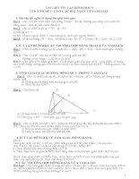 tài liệu ôn tập toán 9