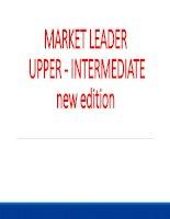 Market Leader Edition new -Unit 2