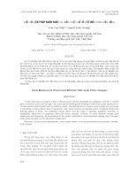 báo cáo khoa học đề tài MỘT SỐ BIỆN PHÁP NGĂN NGỪA VÀ GIẢM THIỂU SỰ CỐ MẤT ĐIỆN TRÊN DIỆN RỘNG