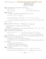 Bộ đề Học sinh giỏi toán 8