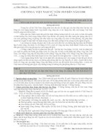 Đề cương lịch sử 12 phần việt nam