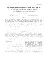 báo cáo khoa học đề tài PHÂN LOẠI GENE MÃ HÓA PROTEIN VẬN CHUYỂN SỬ DỤNG CÁC GENE HÀNG XÓM