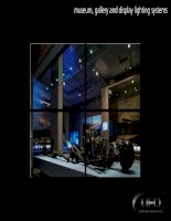 Museum, Gallery and Display Lighting Systems