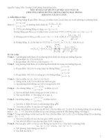 ôn tập toán 10 học kì 2